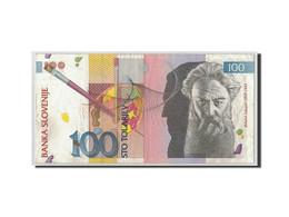 Slovénie, 100 Tolarjev, 1992, KM:14A, 1992-01-15, TB+ - Slovénie