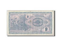 Macédoine, 10 (Denar), 1992, KM:1a, B+ - Macédoine