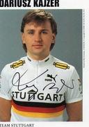 Cyclisme Dariush  Kajzer   Signé - Radsport