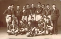 81 - Carmaux - Equipe De Rugby U.S Carmausine 1929, Carte Photo - Carmaux