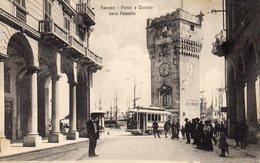 73Di   Italie Savona Portici E Torretta Leon Pancaldo Tramway - Savona