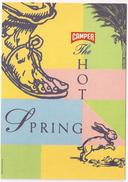 Postal, Zapatos CAMPER, The Hot Spring - Moda
