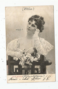 Cp , FEMME , STUDI ARTISTICI , Dos Simple , Voyagée 1902 - Women