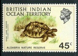 British Indian Ocean Territory 1971 45c Tortoise Issue  #39 MH - British Indian Ocean Territory (BIOT)