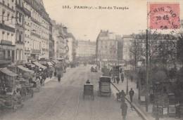CPA - Paris - Rue Du Temple ( 3e Arrondissement ) - Arrondissement: 03