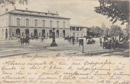 105- CARTOLINA - RICORDO DI FIRENZE - CASCINE - CARTOLINA PERIODO FINE '800 - VIAGGIATA NEL 1901 - Firenze