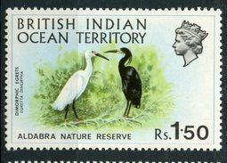 British Indian Ocean Territory 1971 1.50r Egretl Issue  #42 MH - British Indian Ocean Territory (BIOT)