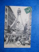 RHONE  69     TARARE   -  FETE GYMNASTIQUE DES 29 ET 30 JUIN 1912  -   LE  DEFILE     TRES   ANIME     PLIURE - Tarare