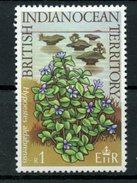 British Indian Ocean Territory 1975 1r Hypoestes Aldabrensis. Issue  #80 MH - British Indian Ocean Territory (BIOT)