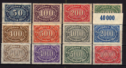 Deutsches Reich, 1922, Mi 246-257 ** (Mi 247 *) [240317L]