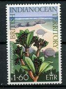 British Indian Ocean Territory 1975 1.50r Euphorbia Pyrifolia. Issue  #81 MH - British Indian Ocean Territory (BIOT)