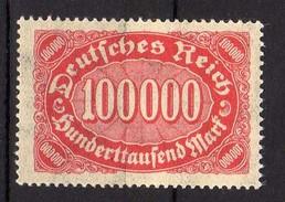 Deutsches Reich, 1922, Mi 257 ** [240317L]