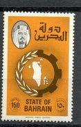 Bahrain 1976 150f Map Of Bahrain. Issue  #233    MH - Bahrain (1965-...)