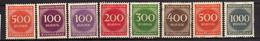 Deutsches Reich, 1923, Mi 268-273 * (Mi 268 A+b) [240317L]