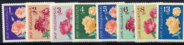 BULGARIA 1962 Roses MNH / **.  Michel 1300-07 - Bulgaria