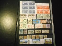 D1240 LOT FEUILLES STOCK EUROPE ET MONDE NEUFS / OB A TRIER BELLE COTE DÉPART 10€ - Sammlungen (im Alben)