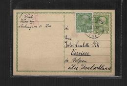 AUTRICHE  1905 GANSZACHE/ENTIER POSTAL CARTE POSTALE DE WIEN à VERVIERS(BELGIQUE) - Entiers Postaux