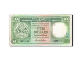 Hong Kong, 10 Dollars, 1985-1987, KM:191a, 1986-01-01, TTB - Hong Kong
