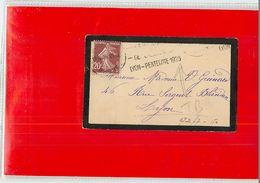 FRANCE - 1926 - LYON  PENTECOTE 1926 - Storia Postale