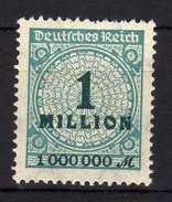 Deutsches Reich, 1923, Mi 314 HT * [240317L]
