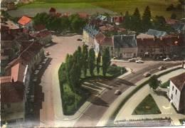 CPSM Dentelée - SAULIEU (21) - Vue Aérienne Du Quartier Du Square Pompon Et De L'Hôtel-Restaurant En 1963 - Saulieu
