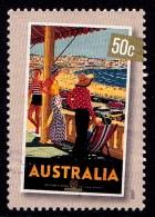Australia 2007 Nostalgic Tourism 50c Bondi Beach Used - Gebraucht