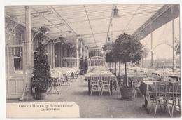 Schoten: Grand Hôtel De Schootenhof: La Terrasse. - Schoten