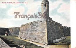 Fort Marion - St Saint Augustine - St Augustine
