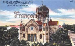 Flagler Memorial Church - Howard Lee D D Minister 1889 - St Saint Augustine - St Augustine