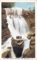 The Flume Cascade - Franconia Notch - White Mountains - White Mountains