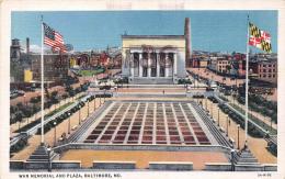 War Memorial And Plaza - Baltimore - Baltimore