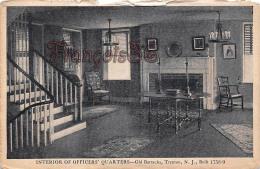 Interior Of Officer's Quarters - Old Barracks - Trenton - Etats-Unis