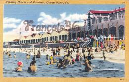 Bathing Beach And Pavilion - Ocean View - Etats-Unis