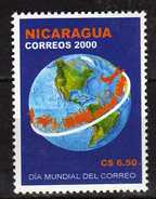 Nicaragua 2001 World Post Day.MNH - Nicaragua