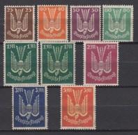 Duitsland 1922 Michel Div Aus 210-218 Xx Postfrisch/MNH/VF  See 2 Scans [d62 ]