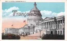 The U S Capitol - 1793 White House - Washington DC