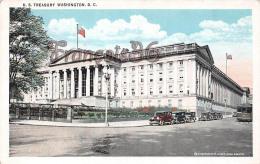 U S Treasury - Department Tram Tramway Vintage Car Automobile - Washington DC