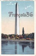 Washington Monument From Potomac River - Washington DC
