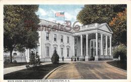 White House - President 's Entrance - Washington DC