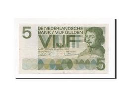 Pays-Bas, 5 Gulden, KM:90a, 1966-04-26, TTB+ - [2] 1815-… : Kingdom Of The Netherlands