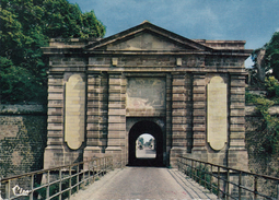 G , Cp , 68 , NEUF-BRISACH , La Porte De Colmar Construite Par Vauban En 1698 - Neuf Brisach