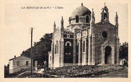 73Di   13 La Bédoule L'église (vue Pas Courante) - Andere Gemeenten