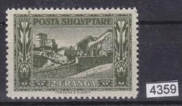 ALBANIA 1922, Mi. 89, 2 FRANGA, POSTA SHQYPTARE, MNH, See Scans - Albanie