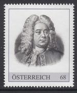ÖSTERREICH 2016 ** Georg Friedrich HÄNDEL, Komponist, Composer - PM Personalisierte Marke MNH - Musik