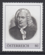 ÖSTERREICH 2016 ** Johann Sebastian BACH, Komponist, Composer - PM Personalisierte Marke MNH - Musik