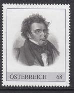 ÖSTERREICH 2016 ** Franz SCHUBERT, Komponist, Composer - PM Personalisierte Marke MNH - Musik