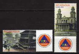 Nicaragua 2002 The 30th Anniversary Of Managua Earthquake.MNH - Nicaragua