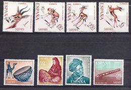 SAHARA 1969 AÑO COMPLETO.EDIFIL Nº 271/278. NUEVOS  CON CHARNELA. SES508GRANDE - Sahara Español