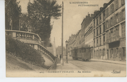 CLERMONT FERRAND - Rue Montlosier ( Tramway ) - Clermont Ferrand