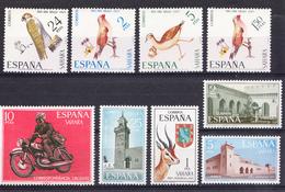 SAHARA 1971 AÑO COMPLETO.EDIFIL Nº 288/296. NUEVOS  CON CHARNELA. SES508GRANDE - Sahara Español